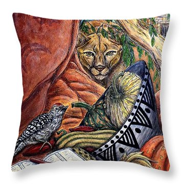 Thanks-giving Throw Pillow