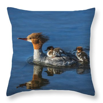Thanks Mom  Throw Pillow by Mitch Shindelbower