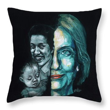Thanks To Dorothy And Charlotte Throw Pillow by Konni Jensen