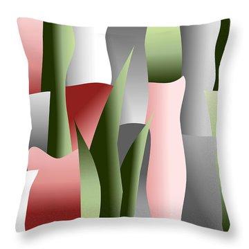 That Crimson Glow Throw Pillow by Tara Hutton