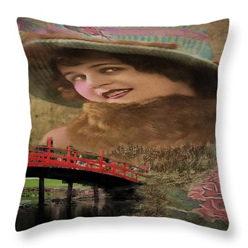 That Day Last Autumn Throw Pillow by Wallaroo Images