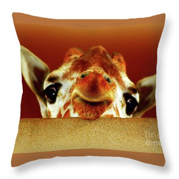 That Face Though Throw Pillow