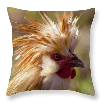 That My Boy Throw Pillow by Donna Brown