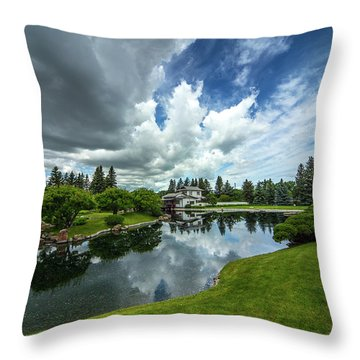That Prairie Sky Throw Pillow