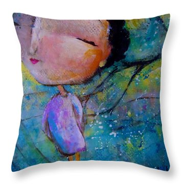 That Troublesome Issue Throw Pillow by Eleatta Diver