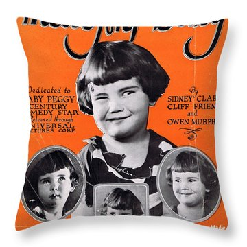 That's My Baby Throw Pillow