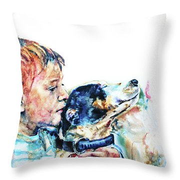 That's My Boy Throw Pillow