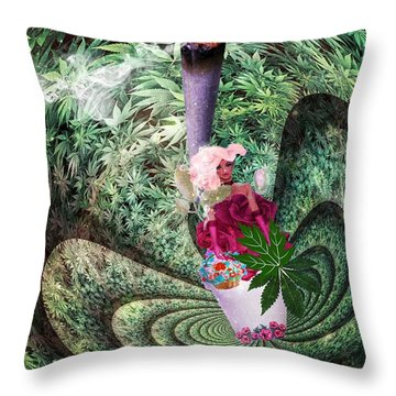 Thc Trip  Throw Pillow