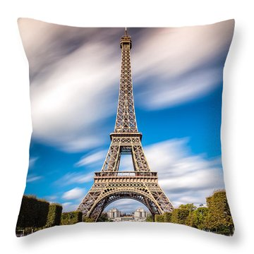 The 1665 Steps Climb Throw Pillow