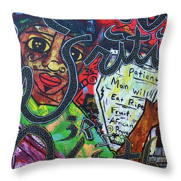 The 3 R's Throw Pillow