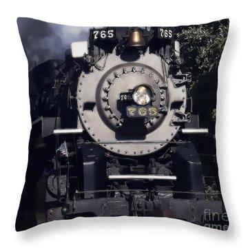 The 765 Throw Pillow