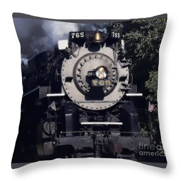 The 765 Throw Pillow