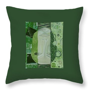 The 7th Creation Throw Pillow
