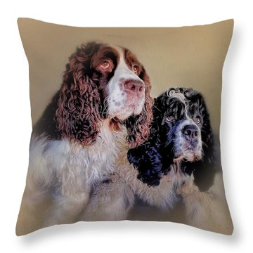 The A Team Throw Pillow by Wallaroo Images