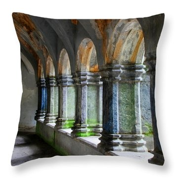The Abbey Throw Pillow