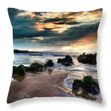 The Absolute Throw Pillow by Sharon Mau