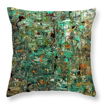 The Abstract Concept Throw Pillow