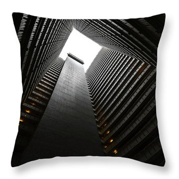 The Abyss, Hong Kong Throw Pillow by Reinier Snijders