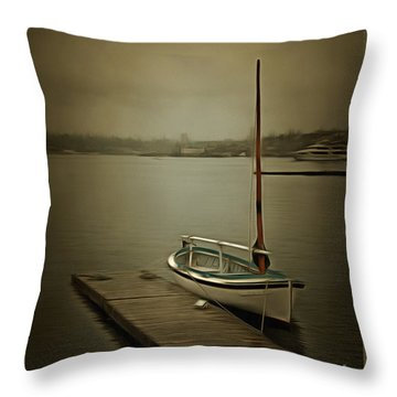 Throw Pillow featuring the photograph The Admirable by Susan Parish