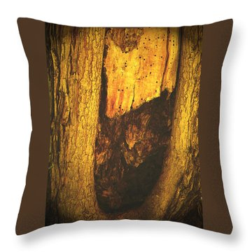 The African Queen Throw Pillow by Lenore Senior