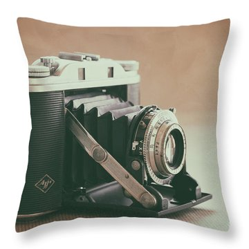Throw Pillow featuring the photograph The Agfa by Ana V Ramirez