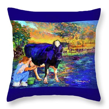 The Agronomist Throw Pillow by Estela Robles