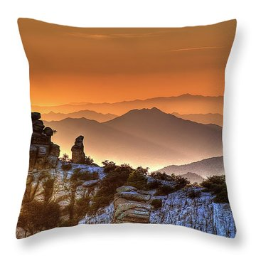 Throw Pillow featuring the photograph The Ahh Moment by Lynn Geoffroy