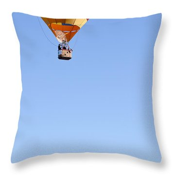 Throw Pillow featuring the photograph The Air Up There... by Kevin Munro