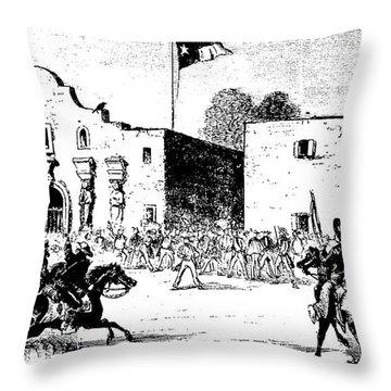 Battle Of The Alamo Art Fine Art America