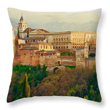 The Alhambra  Throw Pillow