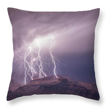 The All Spark Throw Pillow