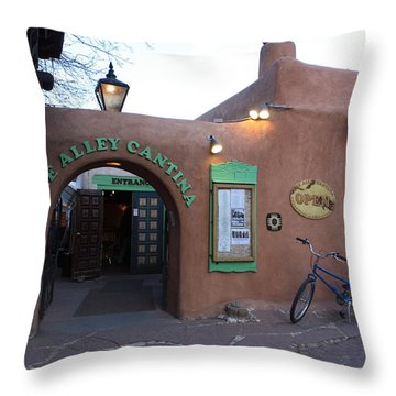 The Alley Cantina Throw Pillow