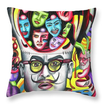 The Alluring Web Of Radical Thought Throw Pillow