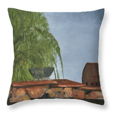 The Alter Throw Pillow by Jane Autry