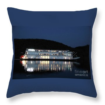 The American Duchess At Night Throw Pillow