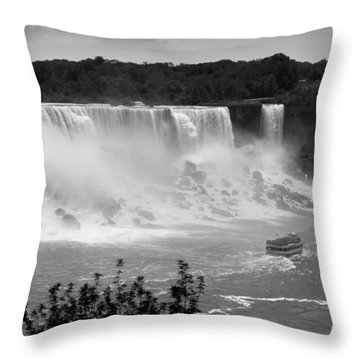 The American Falls Throw Pillow