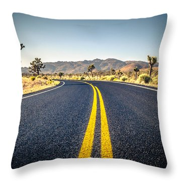 The American Wilderness Throw Pillow