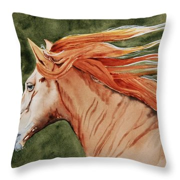 The Americano Throw Pillow