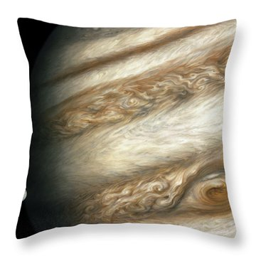 The Ancient Dance Of Europa And Jupiter Throw Pillow