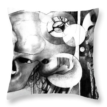 The Ancient Machine Throw Pillow
