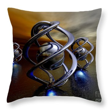 The Ancient Ones Throw Pillow by Alexander Butler