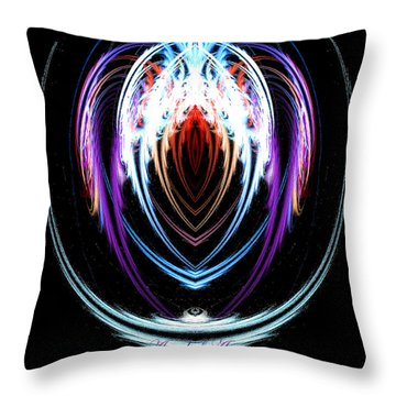 The Angel Of Art Throw Pillow