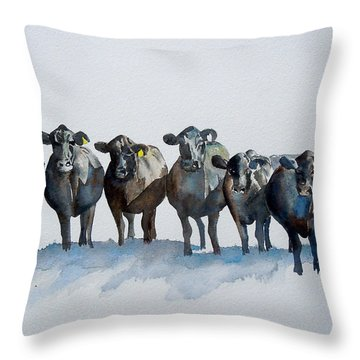 The Angus Eight Throw Pillow