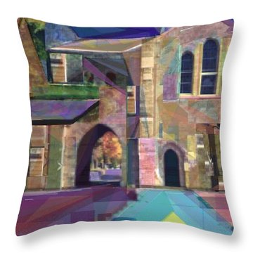 The Annex Throw Pillow