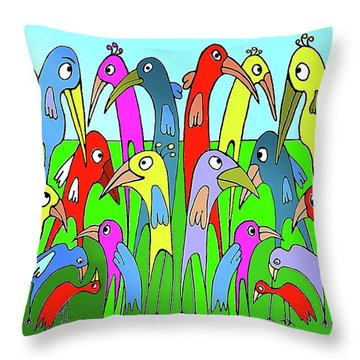 The  Annual General Meeting Throw Pillow