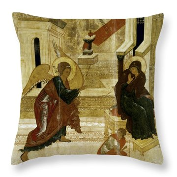 The Annunciation Throw Pillow by Granger