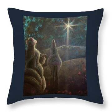 The Anticipation Throw Pillow