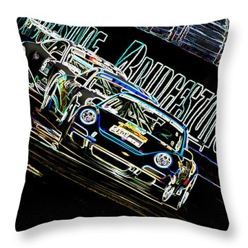 The Apex Throw Pillow
