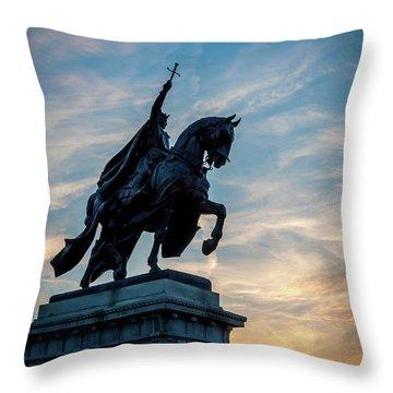 The Apotheosis Of St. Louis Throw Pillow