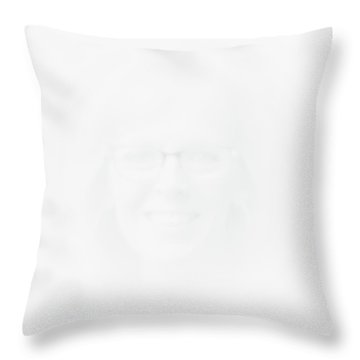 The Apparition Throw Pillow by David Patterson